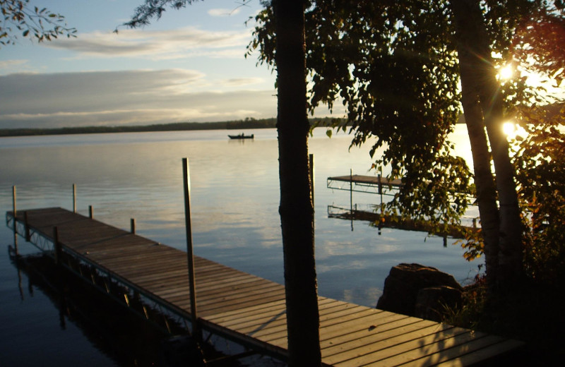 Dock at Timber Trail Lodge & Resort.