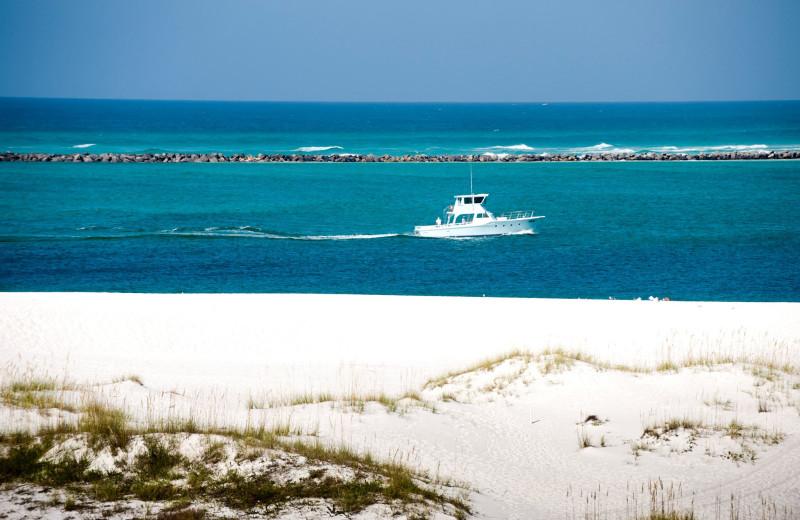 The beach at Destin Pointe.
