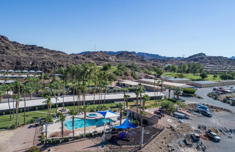 Outdoor pool at Havasu Springs Resort.