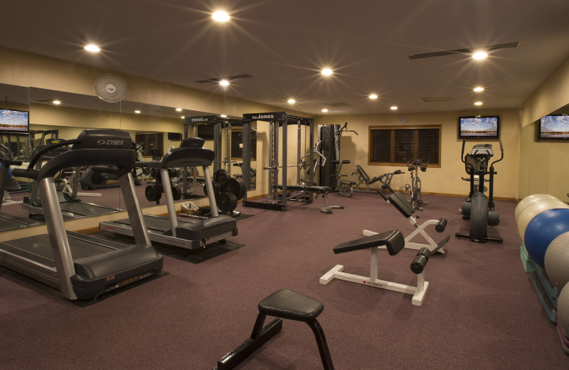 Get in your workout at the Chetola Fitness Center.