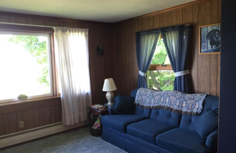 Guest room at Vineyard Bed & Breakfast.