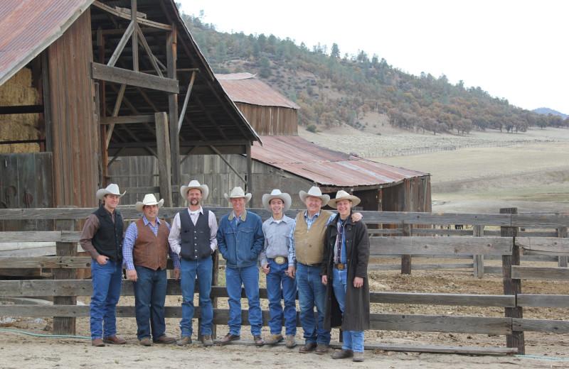 Meetings at Rankin Ranch.