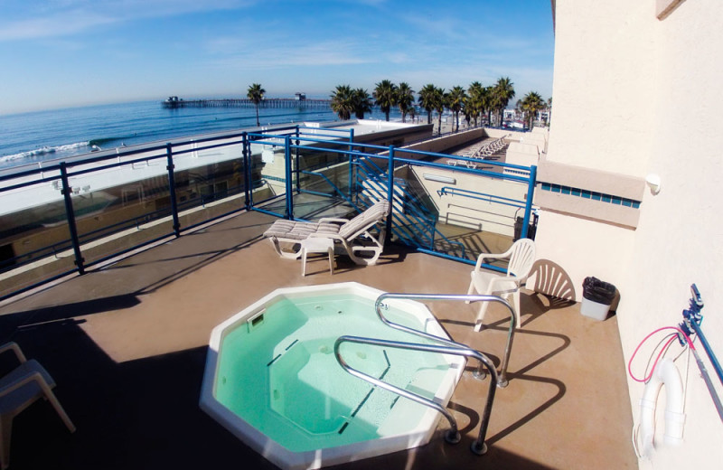 Jacuzzi at the Southern California Beach Club