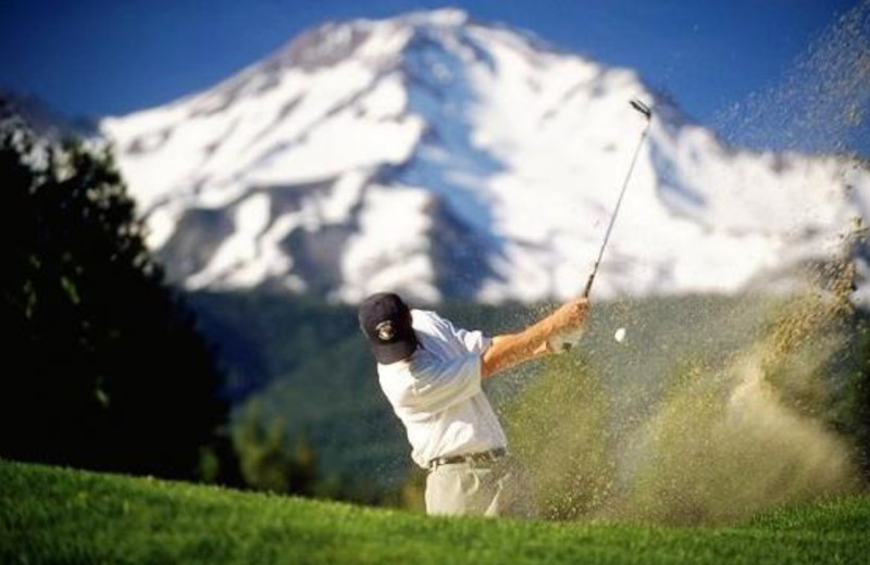 Golfing at Mount Shasta Resort