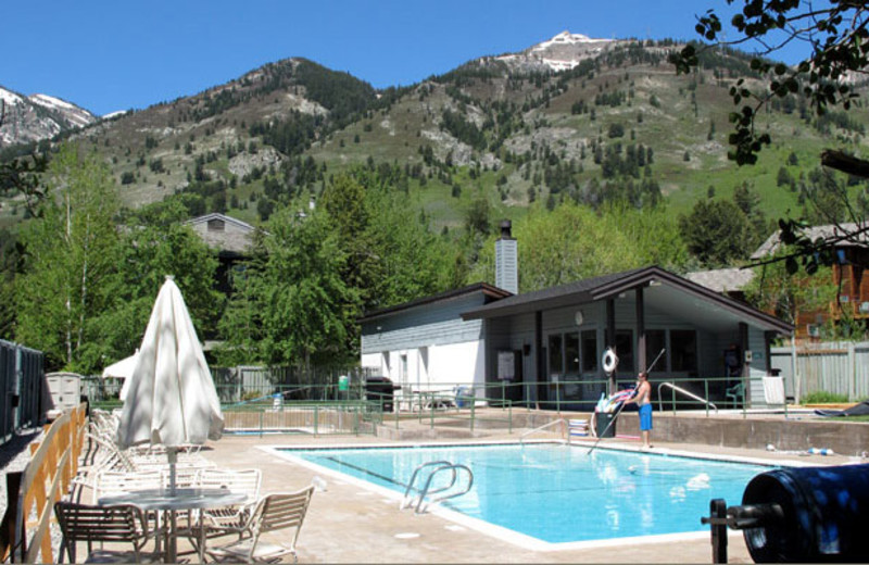 Rental pool at Rendezvous Mountain Rentals & Management.