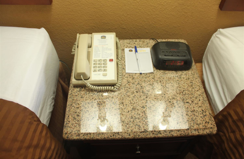 Accommodations at Best Western White Mountain Inn.
