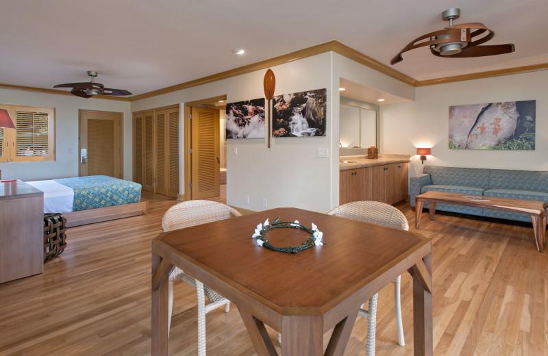 Guest room at Travaasa Hana.