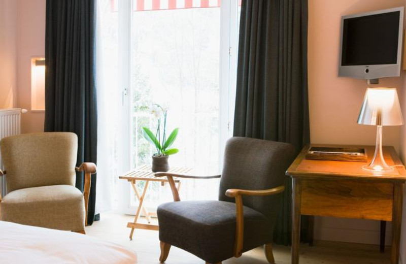 Guest room at Haus Hirt Hotel & Spa.