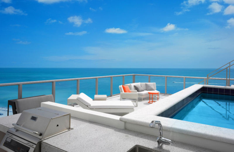 Balcony view at W South Beach.