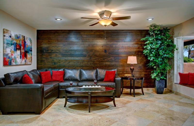 Guest living room at Arizona Vacation Rentals.
