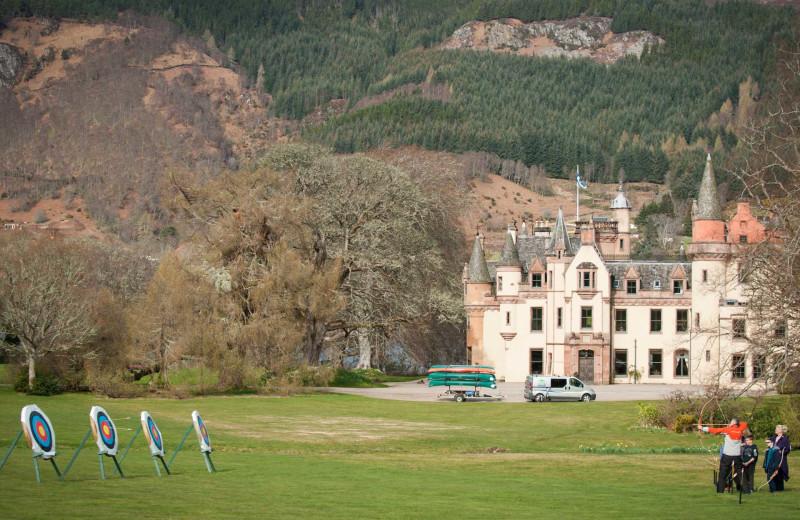 Castle archery at Luxury Castle Hire.