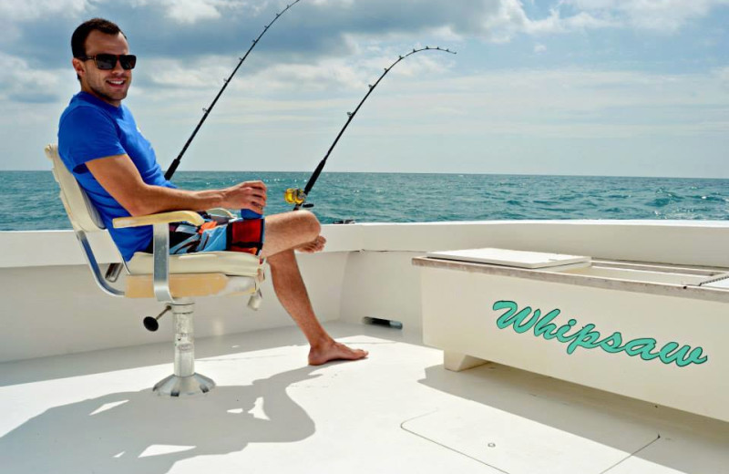 Fishing at Shell Island Resort.