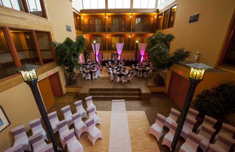 Wedding at Banff Ptarmigan Inn.