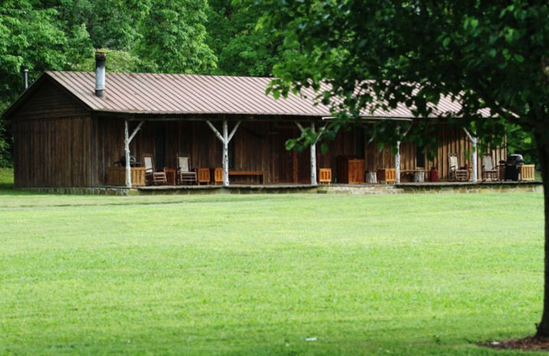 Lodging at Panther Valley Ranch.