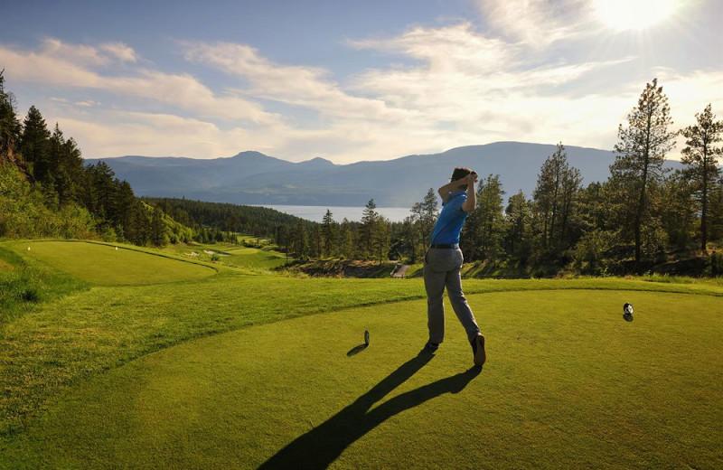 Golf course near Playa Del Sol Resort.