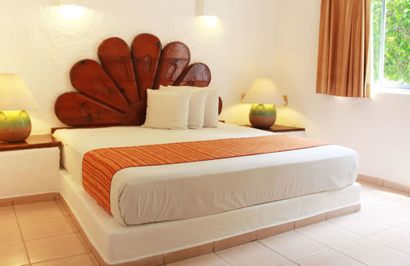 Guest room at Vista Playa de Oro Manzanillo.