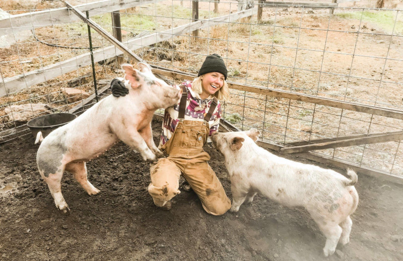 Farm at Sundance Trail Guest Ranch.