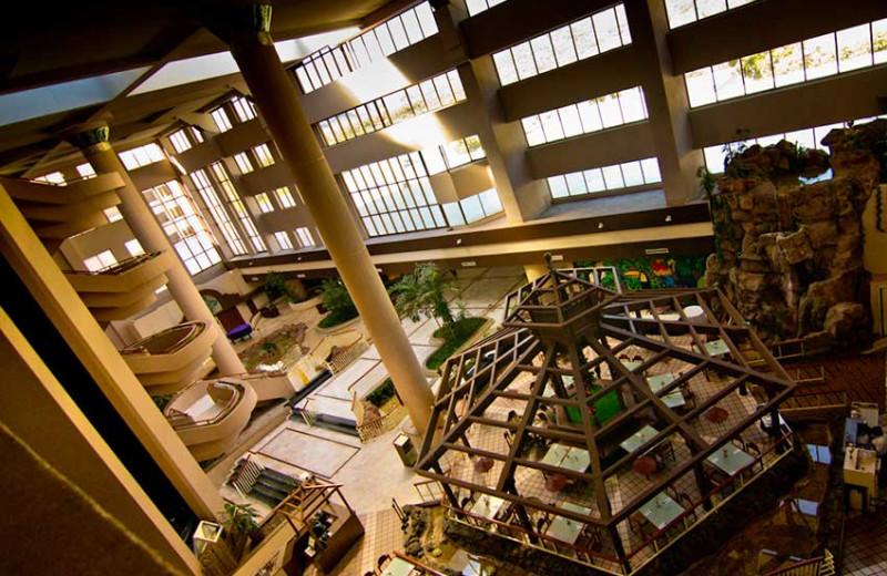 Lobby at San Carlos Plaza Hotel, Resort & Convention Center.