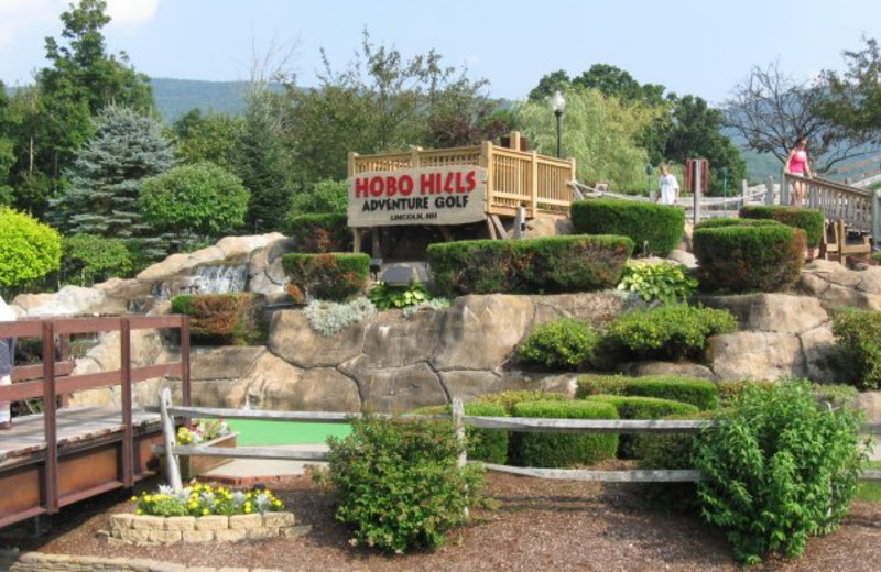 Mini golf near The Mountain Club on Loon.
