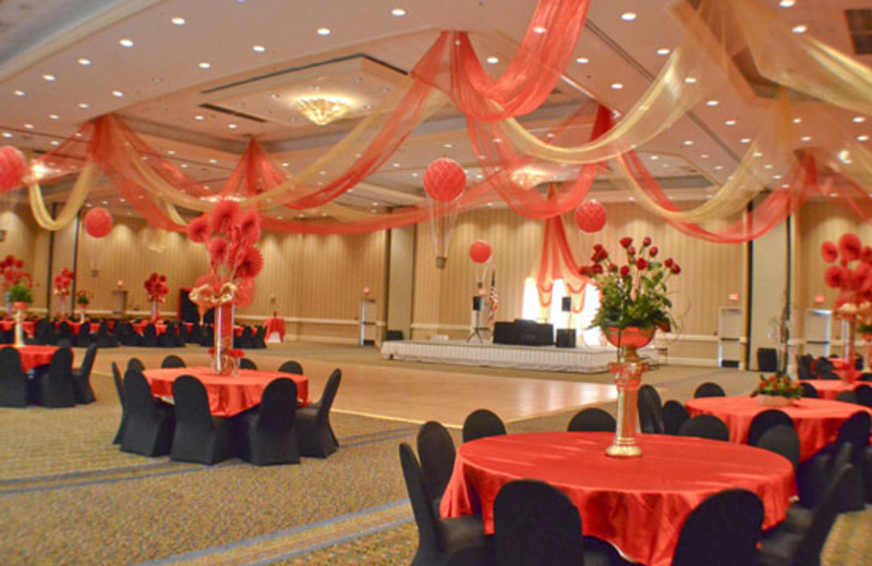 Event setup at Boardwalk Beach Resort Hotel & Convention Center