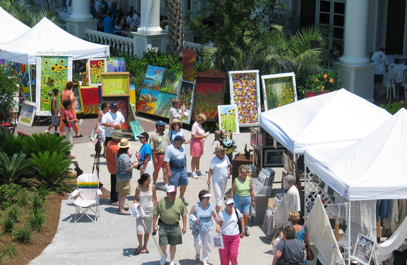 Art festival at Sandestin Golf Resort.