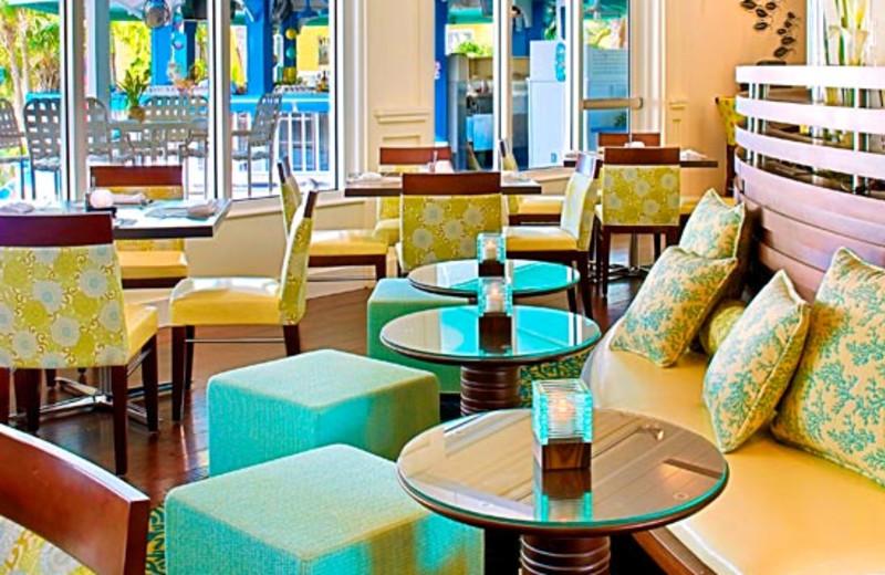Lounge area at Sheraton Suites Key West.