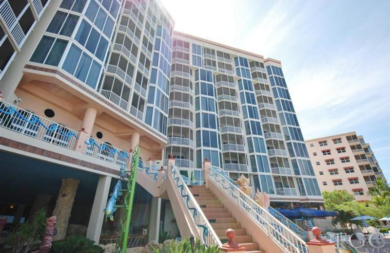 Rental exterior at Tri Power Resort Rentals.