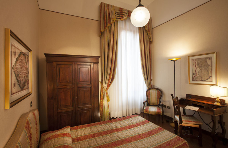 Guest room at Hotel Posta.