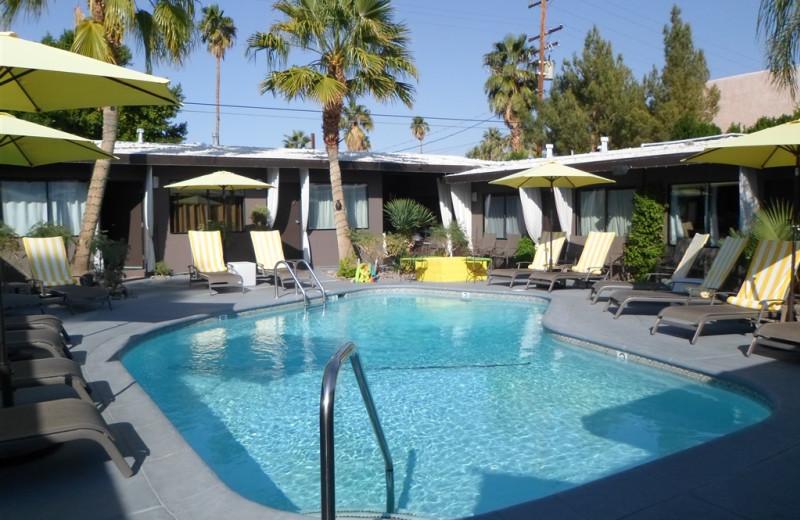 Outdoor pool at Avanti Hotel.