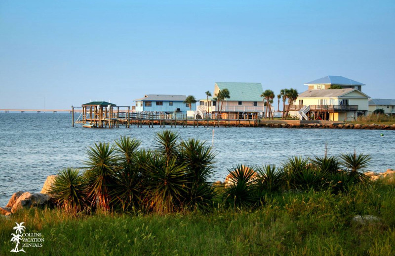 Exterior view of Collins Vacation Rentals.