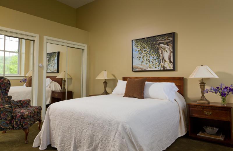 Guest Room at Ledges Hotel