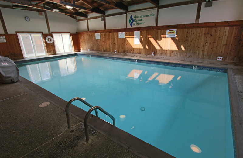 Indoor pool at Mountainside at Stowe.