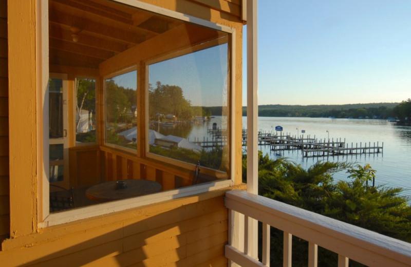 Lake view at Naswa Resort.