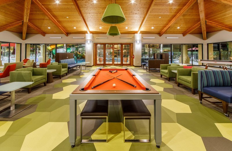 Game room at Holiday Inn Club Vacations Scottsdale Resort.