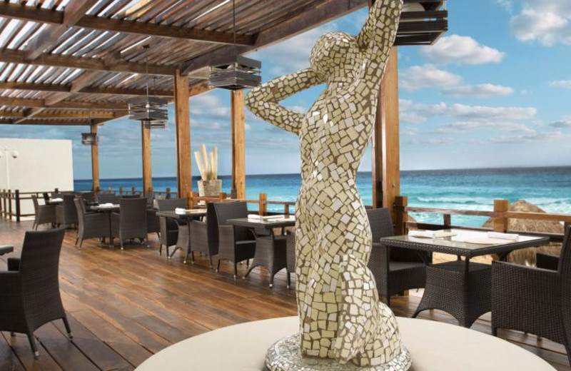 Dining at Me Cancun.