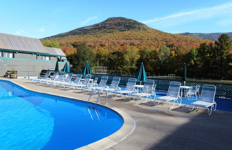 Rental outdoor pool at All Mountain Rentals.