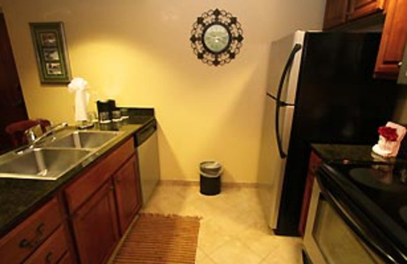 Guest Kitchen at The Inn at Christmas Place