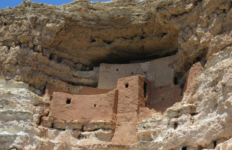 Montezuma's Castle near Sky Rock Inn of Sedona.