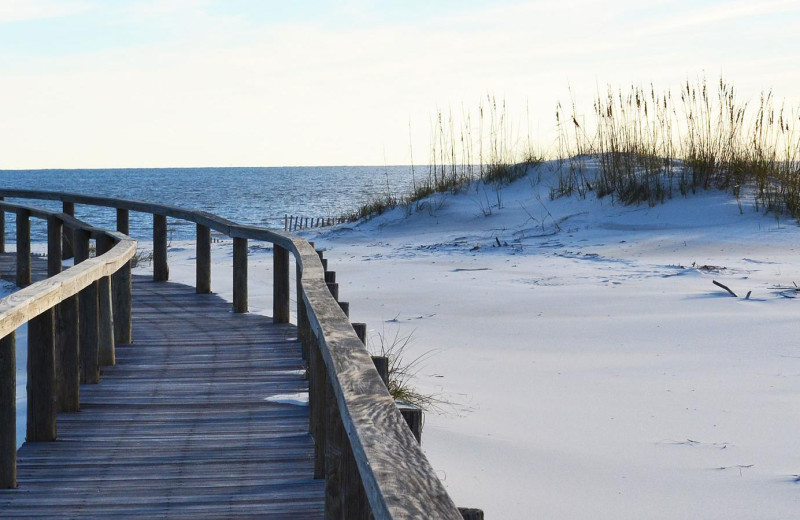 Beach at Gulf Shores Plantation.