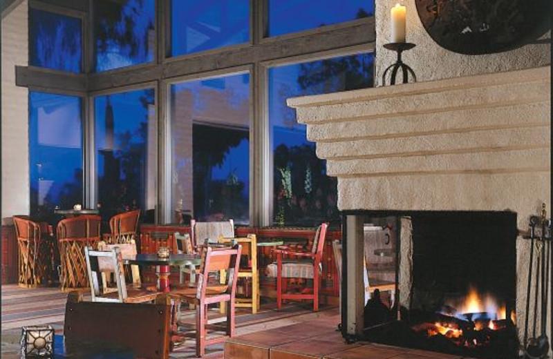 Dining room at Rancho De Los Caballeros.