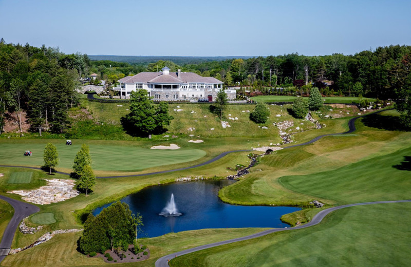 Exterior view of Boothbay Harbor Country Club.