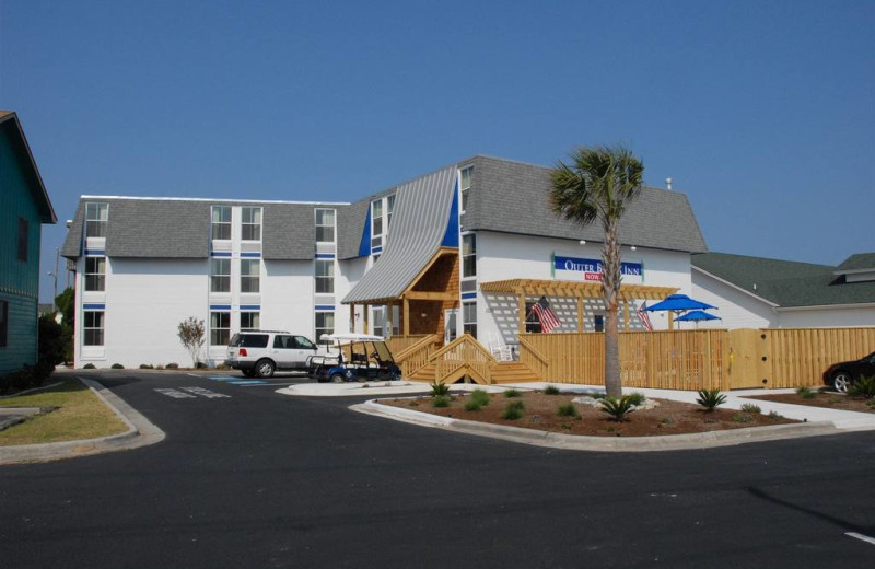Exterior view of Outer Banks Inn.
