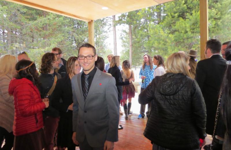 Wedding at DiamondStone Guest Lodges.