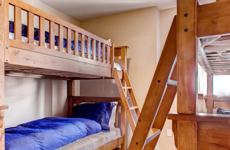 Kids will love the bunk beds at RentChalets