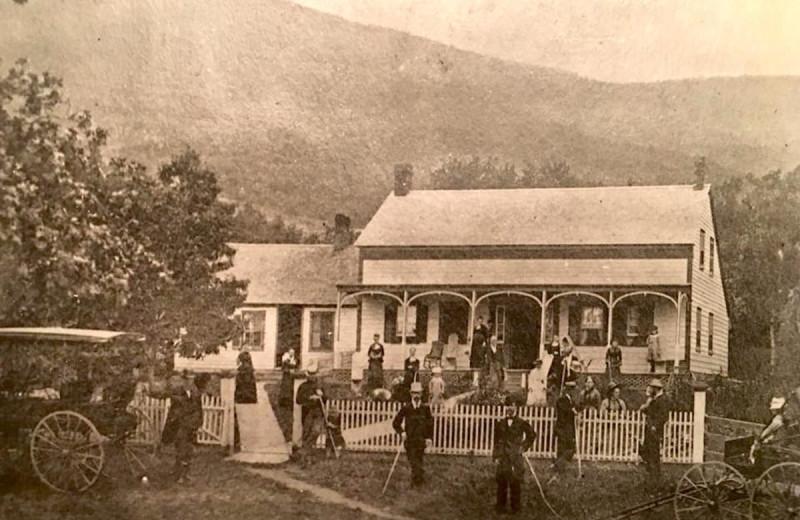 Historic photo of Winter Clove Inn.