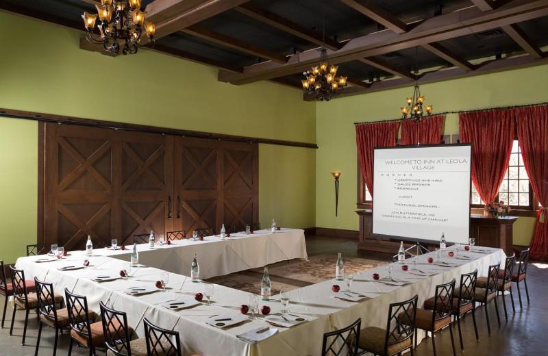 Meetings at The Inn at Leola Village.