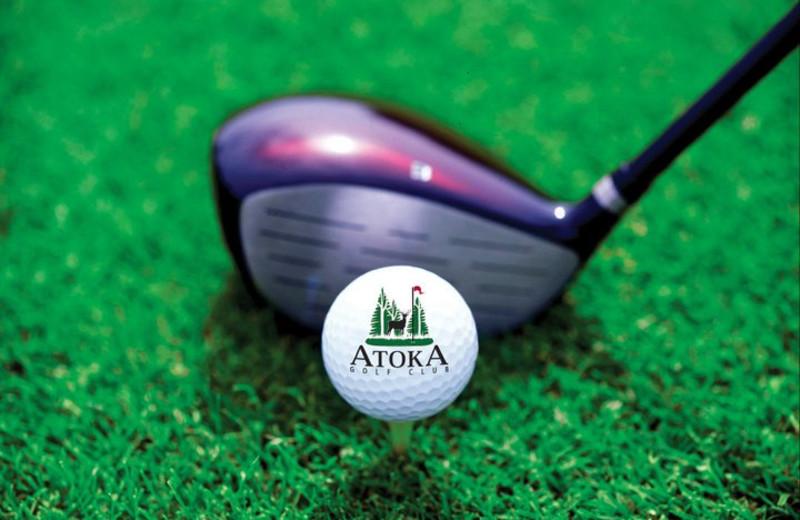 Golfing at Cranberry Golf Resort