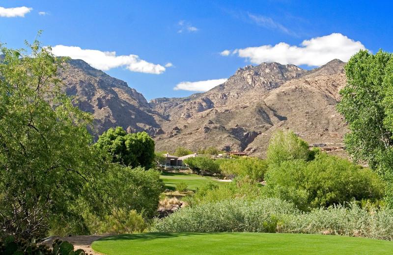 Golf course at The Lodge at Ventana Canyon.