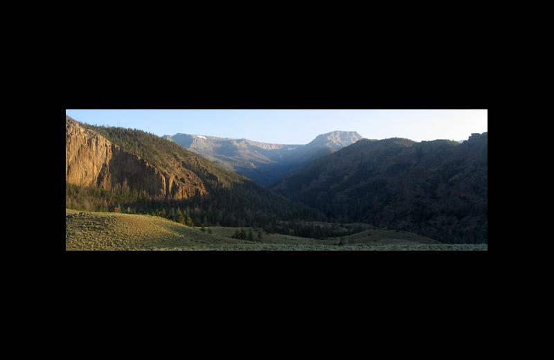 Mountains at Rimrock Dude Ranch.