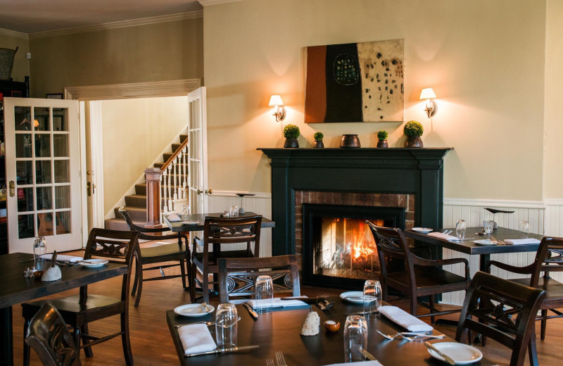 Dining at The Whistling Swan Inn.